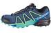 Salomon Speedcross 4 Hardloopschoenen Dames blauw/turquoise